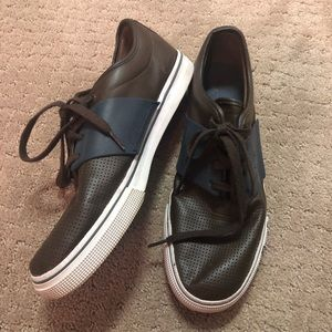 Brown leather Puma Men's Sneakers